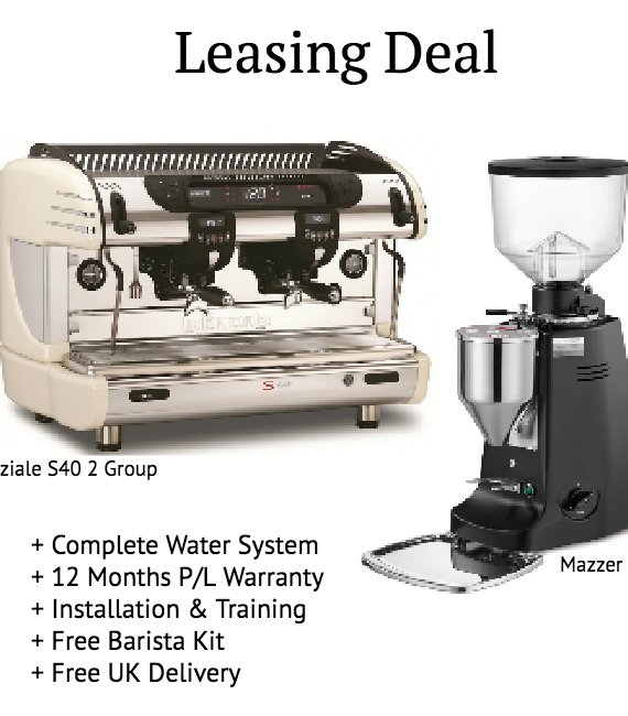 La Spaziale S40 Suprema 2 Group + Mazzer Major E - Leasing Deal