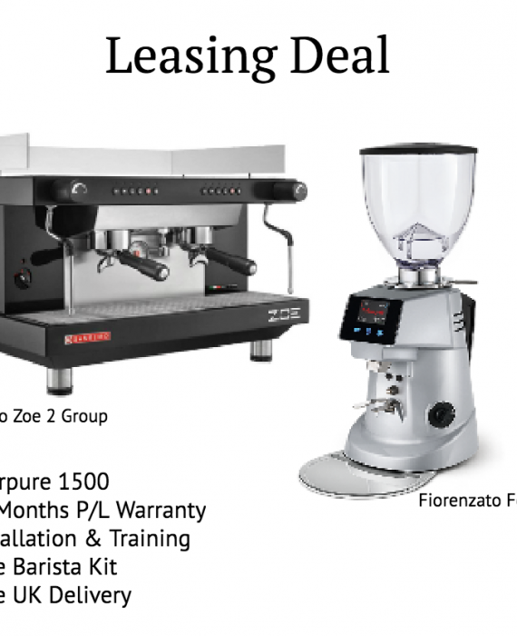 Sanremo Zoe 2 Group + Fiorenzato F64 EVO - Leasing Deal